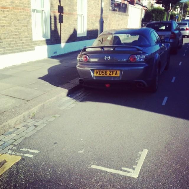 KD56 ZFA displaying crap parking