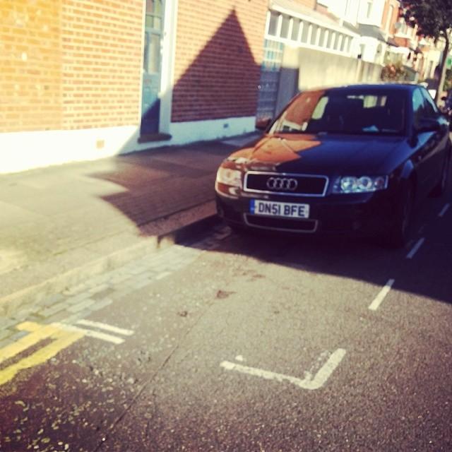 DN51 BFE displaying crap parking