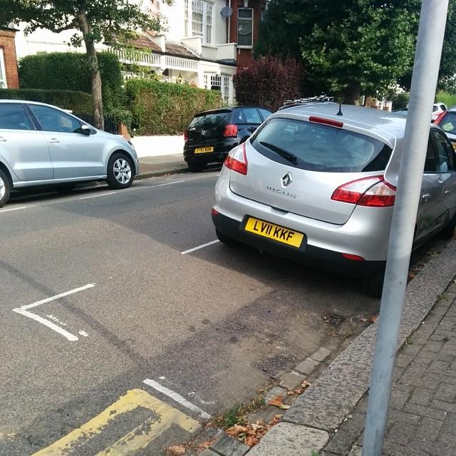 LV11 KKF displaying Selfish Parking