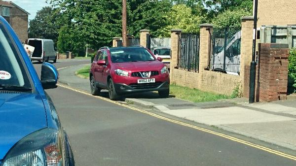 WH62 GHY displaying crap parking