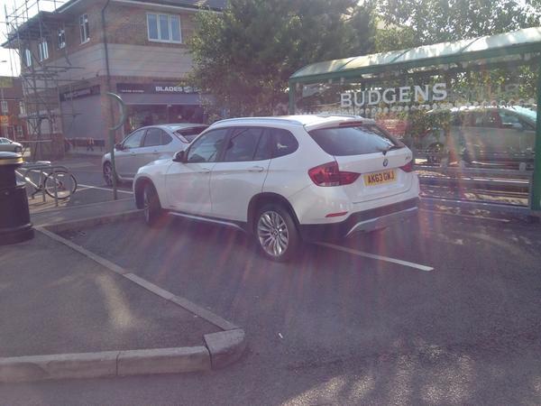 AK63 GWJ displaying crap parking