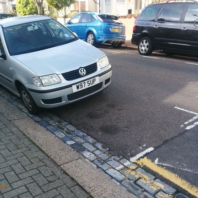 W97 SUP displaying crap parking