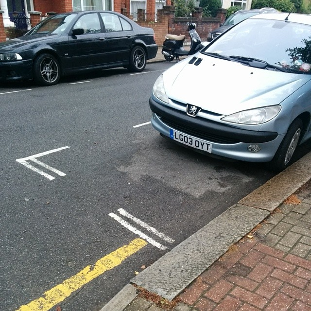 LG03 OYT is an Inconsiderate Parker