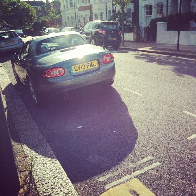 GV13 FML displaying Inconsiderate Parking