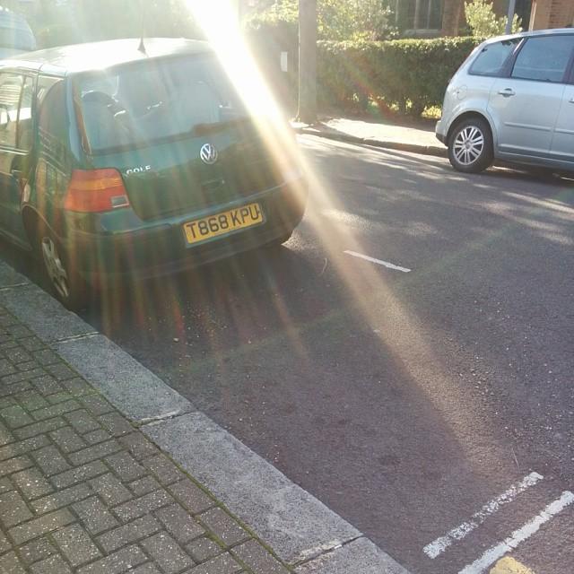 T868 KPU displaying crap parking