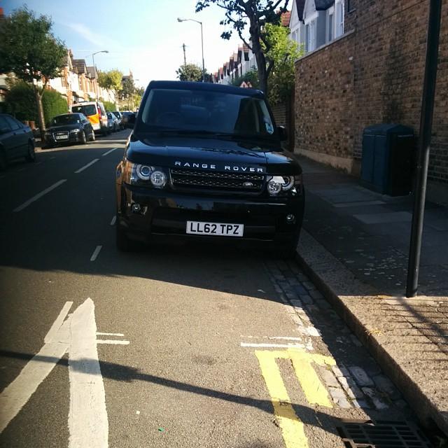 LL62 TPZ displaying Selfish Parking