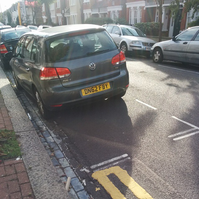 DN62 FBY is a crap parker