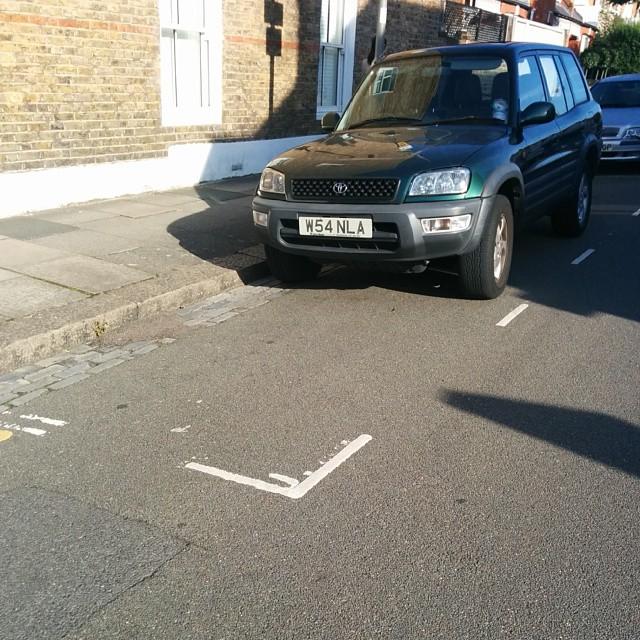 W54 NLA is a crap parker