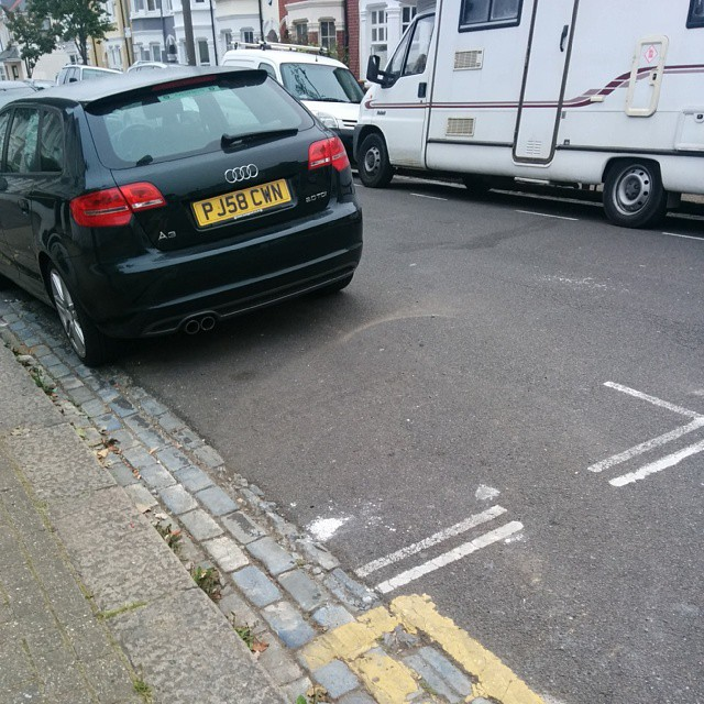 P58 CWN is an Inconsiderate Parker