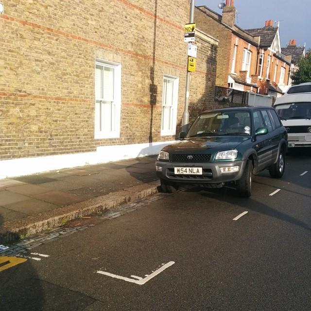 W54 NLA displaying Selfish Parking