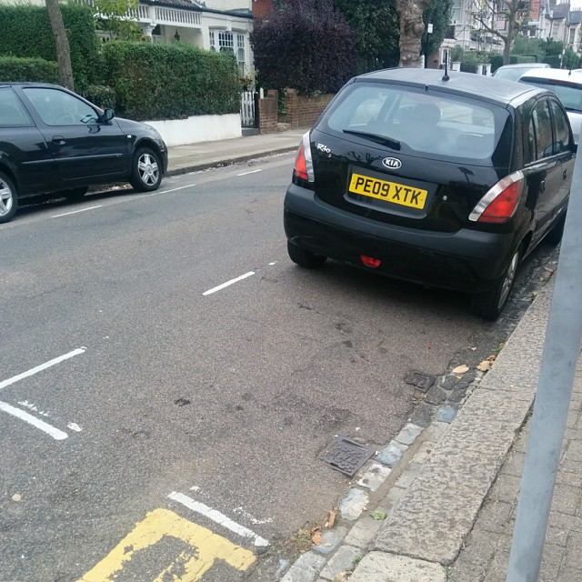 PE09 XTK displaying crap parking
