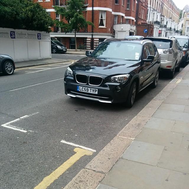 LC59 TYP displaying crap parking