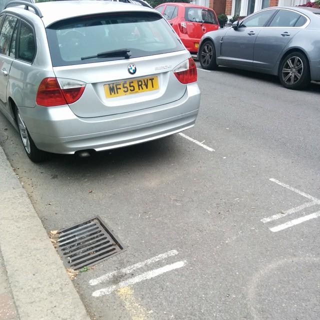 MF55 RVT displaying Selfish Parking