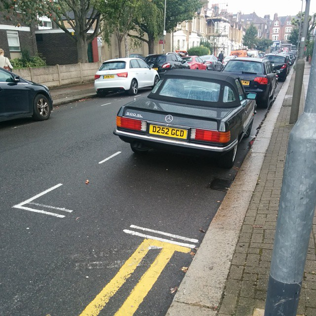 D252 GCD displaying Inconsiderate Parking
