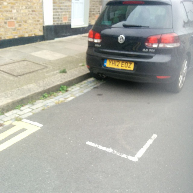 YH12 EOZ is an Inconsiderate Parker