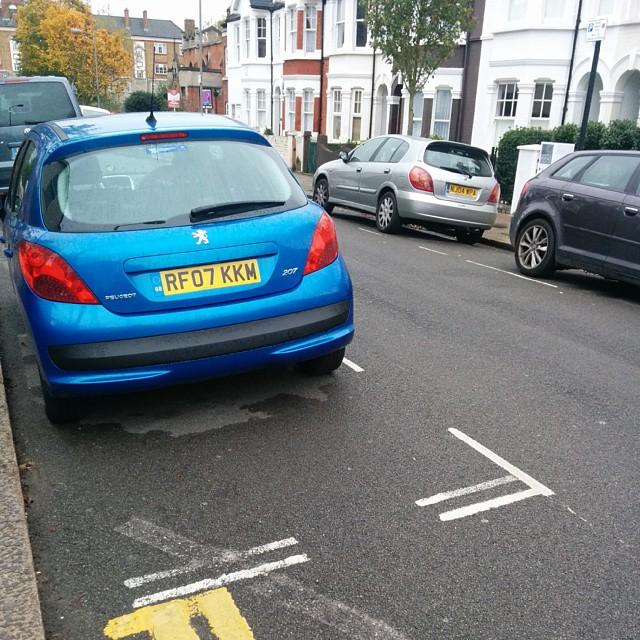 RF07 KKM displaying Selfish Parking