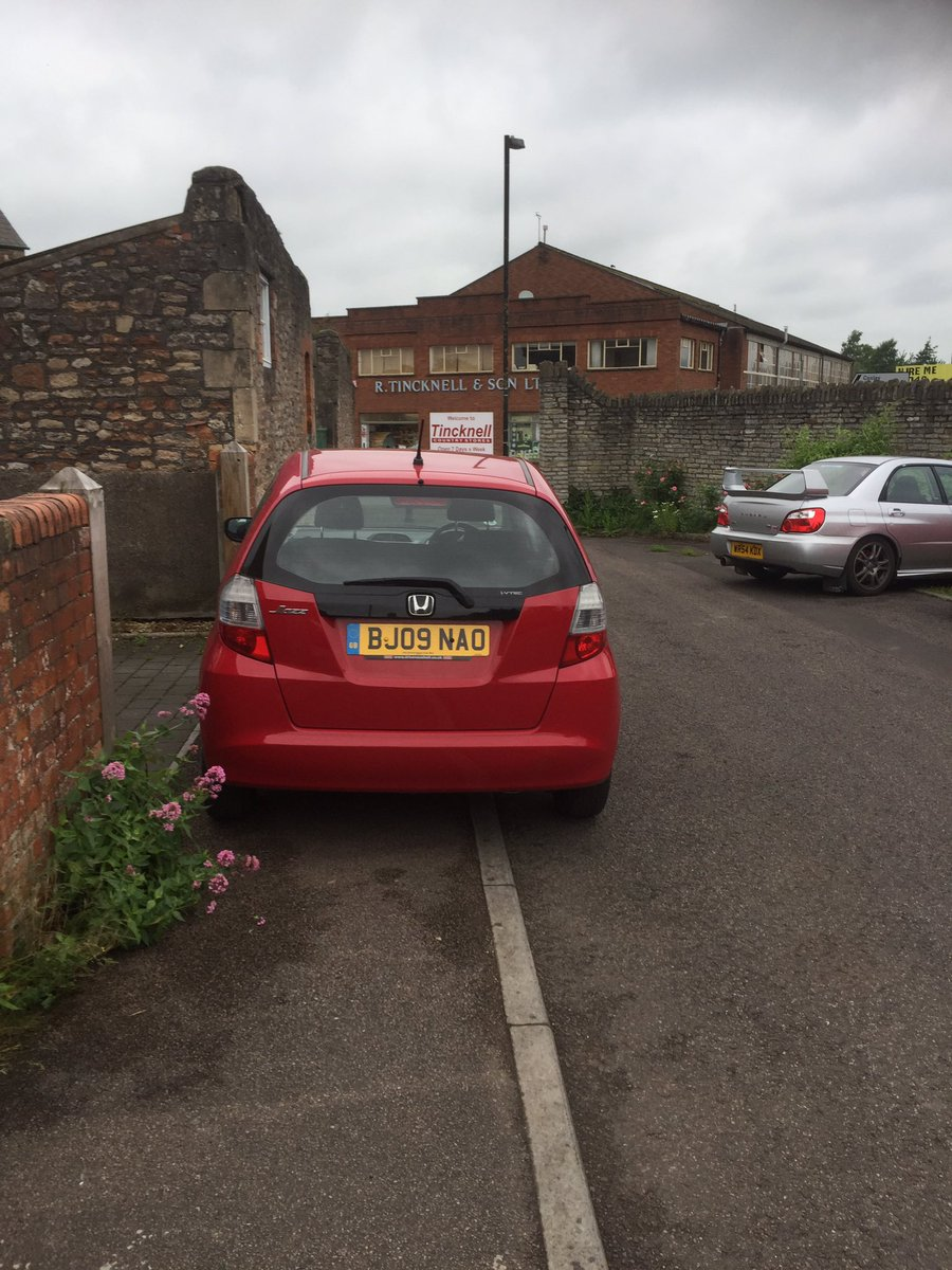 bj09-nao-yes-its-parked-screw-pedestrians-pushchairs-and-wheelchair-users-httpst-cod7byysyhzj-selfishparker-deadmetal