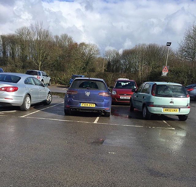 FY14 ZYT is an Inconsiderate Parker