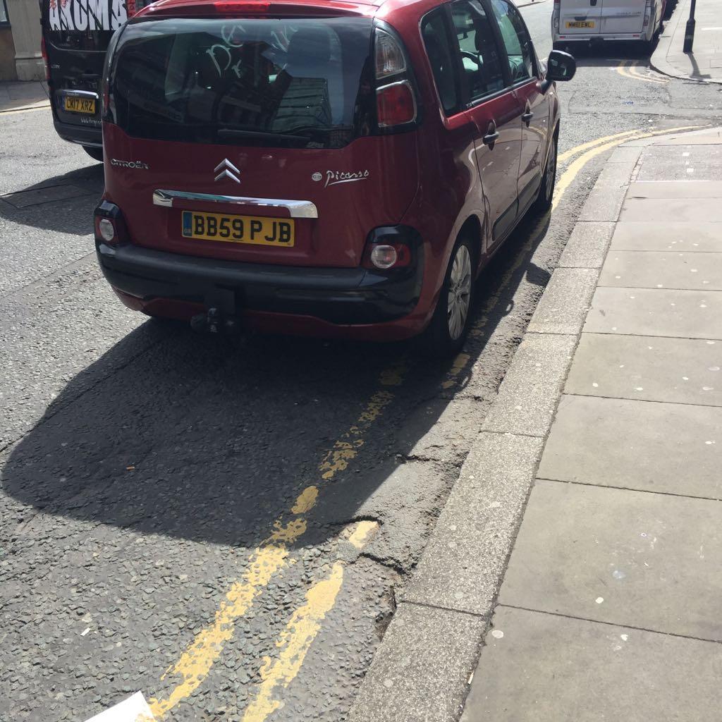 BB59 PJB displaying crap parking