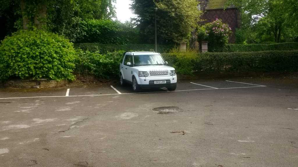 DV12 LKM displaying crap parking