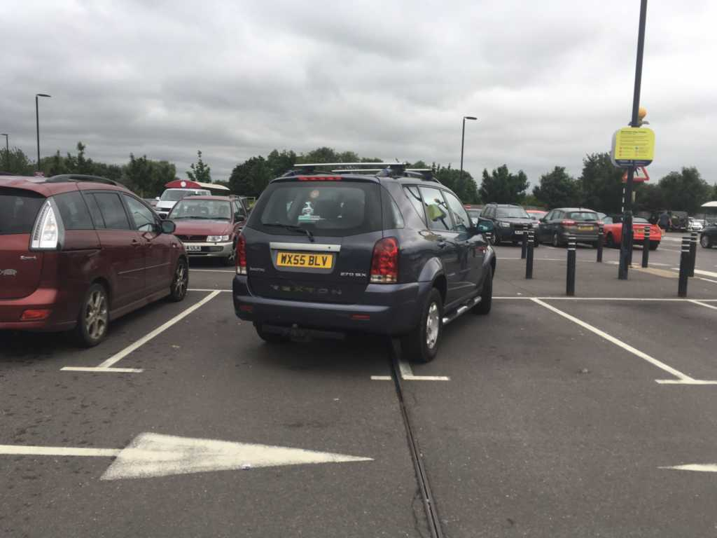 Selfish Parker WX55 BLV