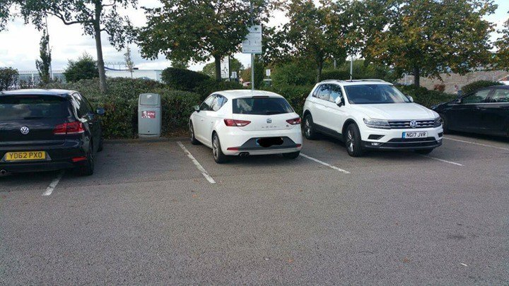 YD62 PXO is an Inconsiderate Parker