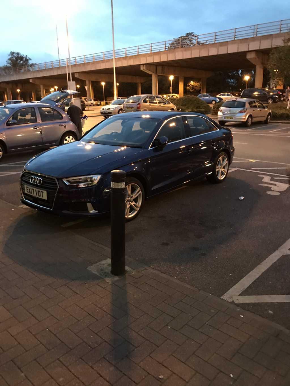 EX17 VOT displaying crap parking