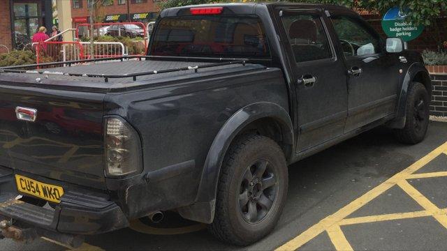 CU54 WKO displaying Selfish Parking