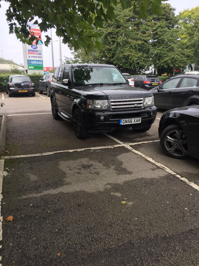 GN56 XAR is an Inconsiderate Parker