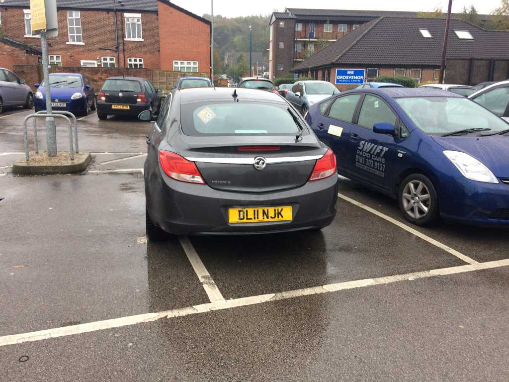 S 2 PAR displaying Selfish Parking