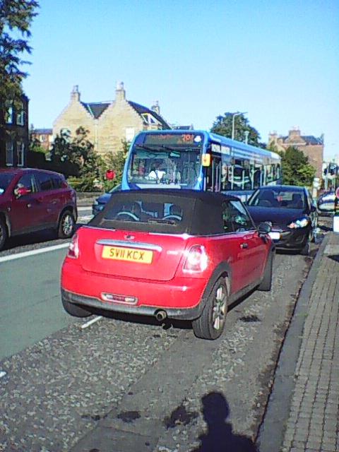 SV11 KCX displaying crap parking