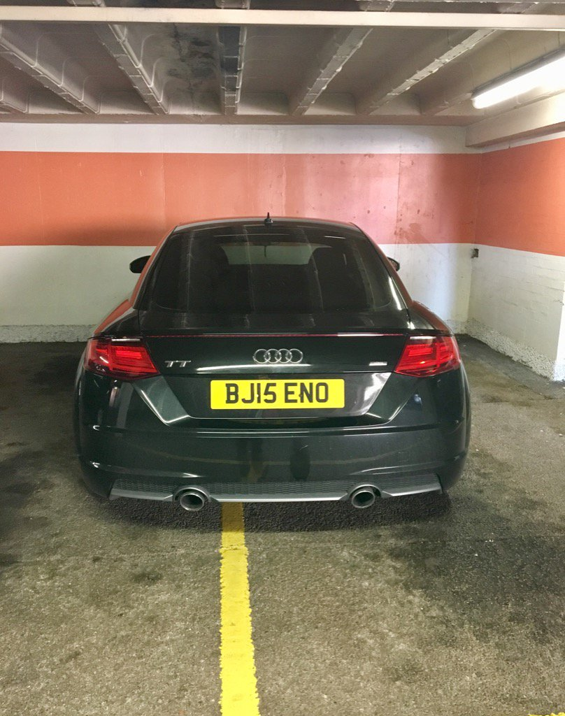 BJ15 ENO displaying crap parking