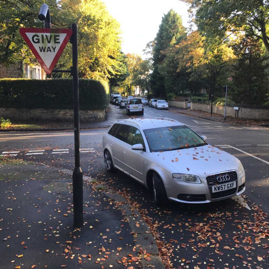 GW57 KXF is an Inconsiderate Parker