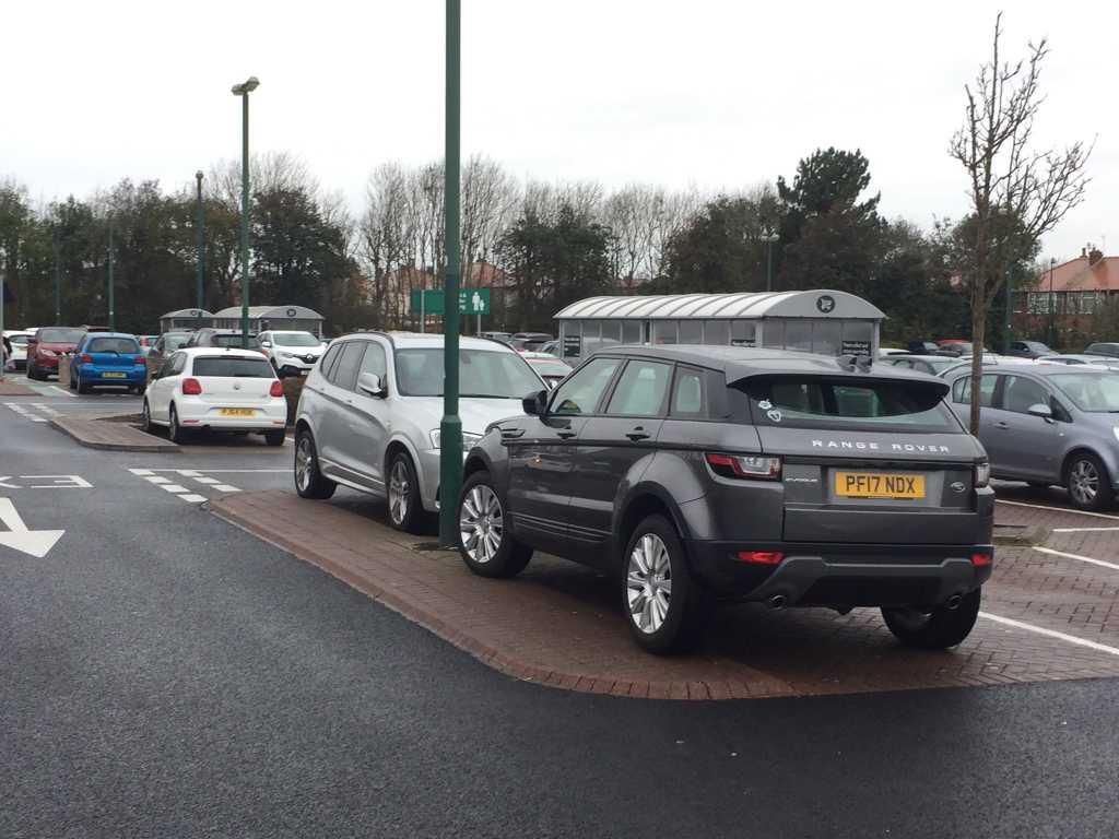 PF17 NDX displaying Selfish Parking