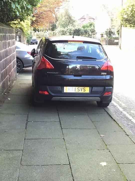 MT11 SVS displaying Selfish Parking