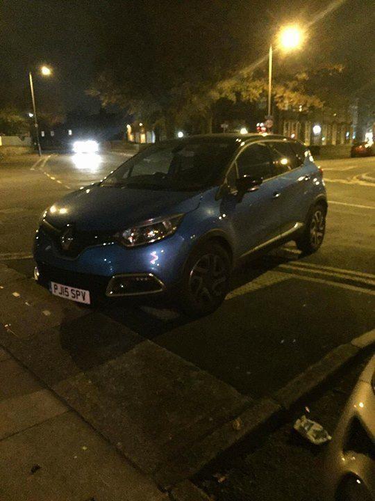 PJ15 SPV displaying crap parking