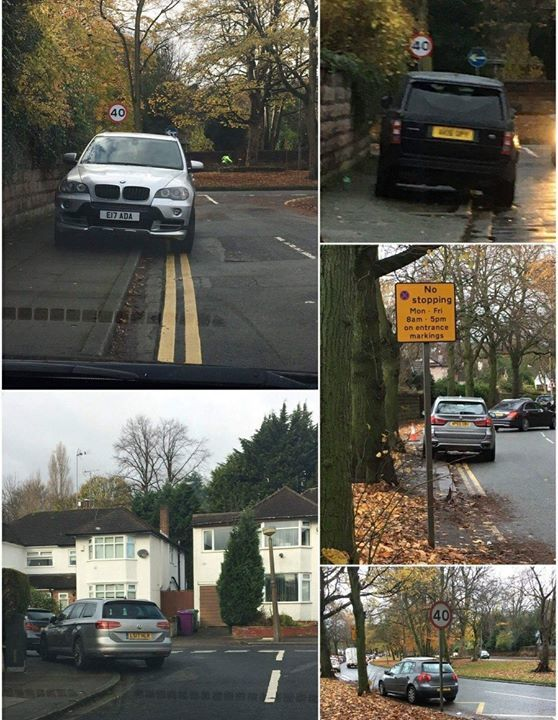 E17 ADA displaying crap parking