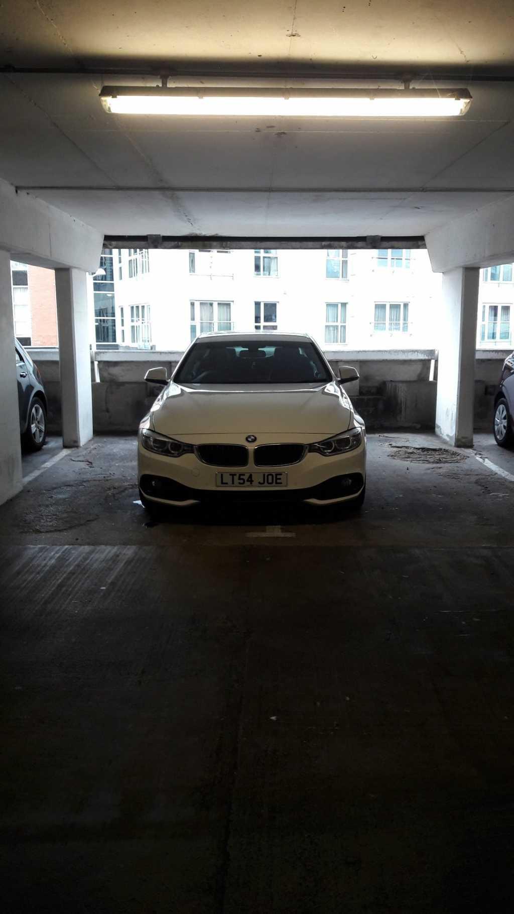 LT54 JOE displaying Selfish Parking