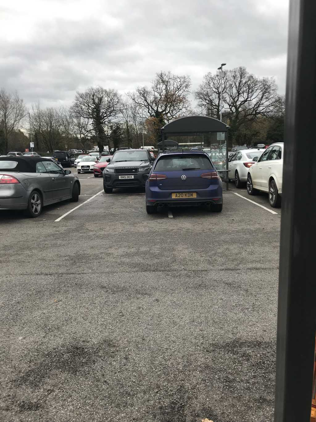 A20 KDM displaying Inconsiderate Parking