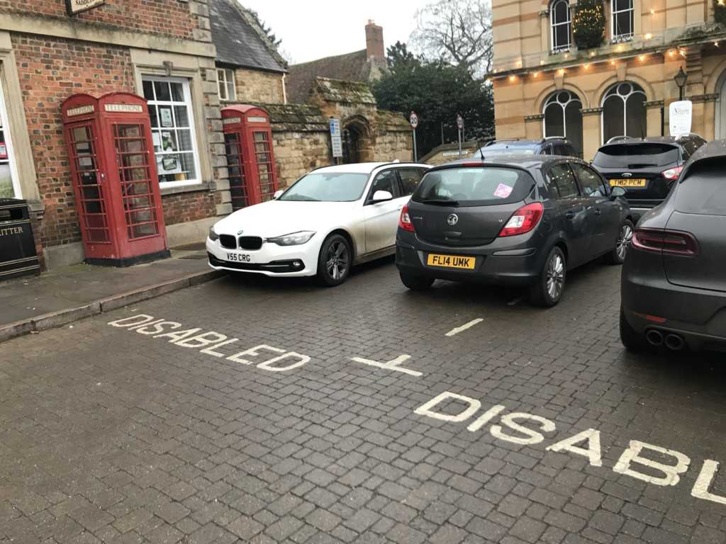 V55 CRG is an Inconsiderate Parker