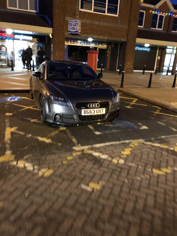 DG63 UXT displaying Selfish Parking