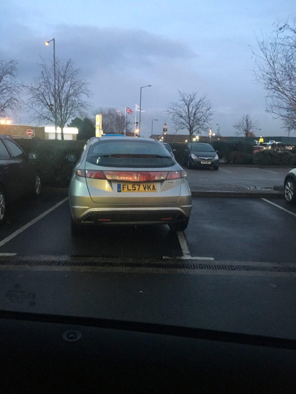 FL57 VKA displaying crap parking