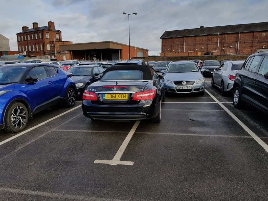 LD61 XTH is an Inconsiderate Parker