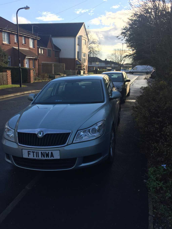 FT11NWA displaying Selfish Parking