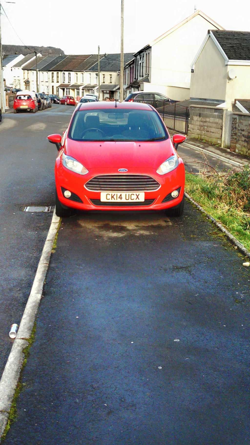 CK14 UCX displaying crap parking