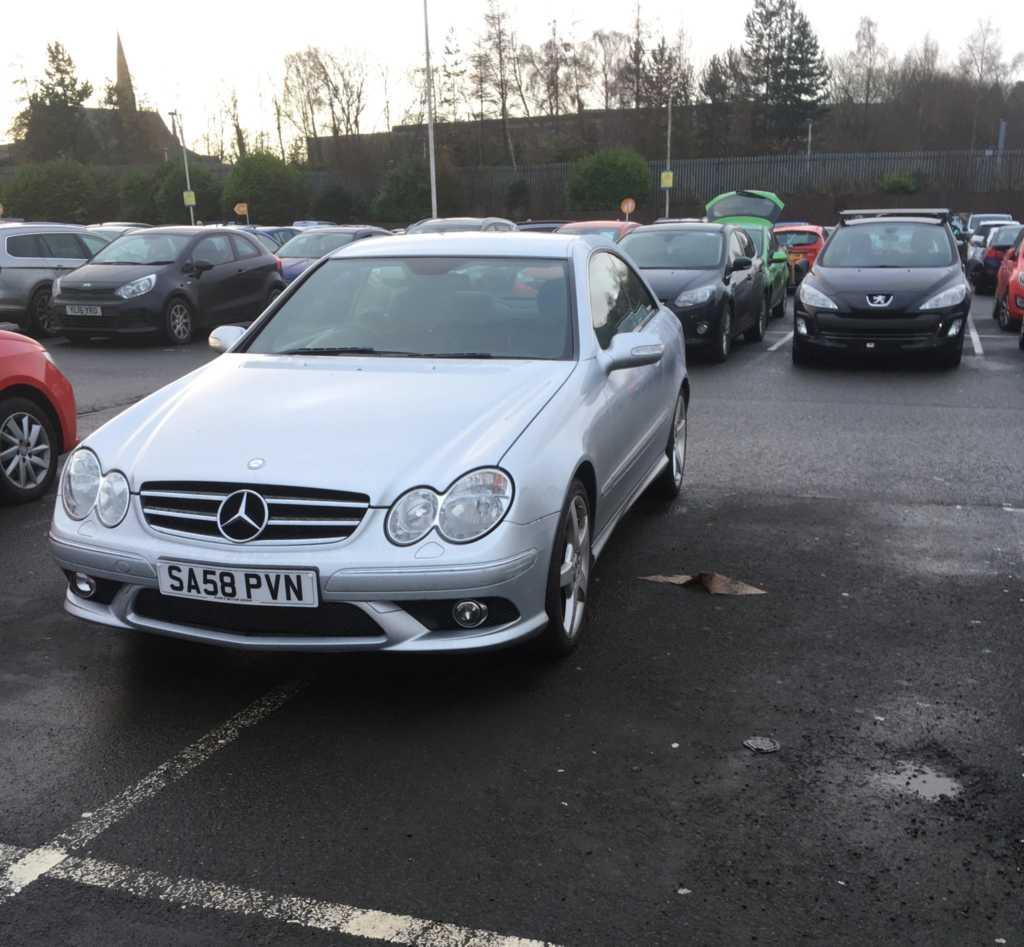 SA58 PVN displaying Inconsiderate Parking
