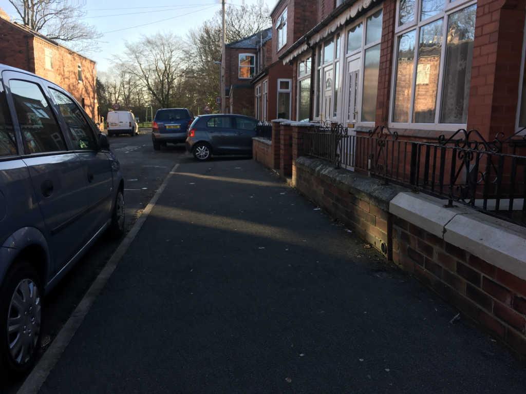 PN08 XLK displaying Selfish Parking