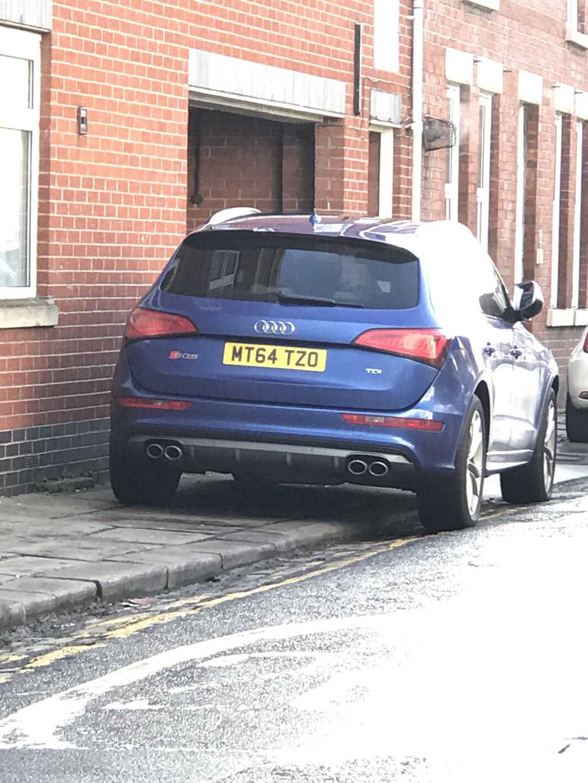 MT64 TZO displaying crap parking