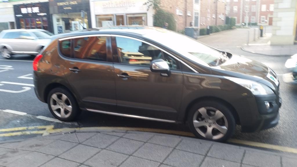 GF10 GXW displaying crap parking