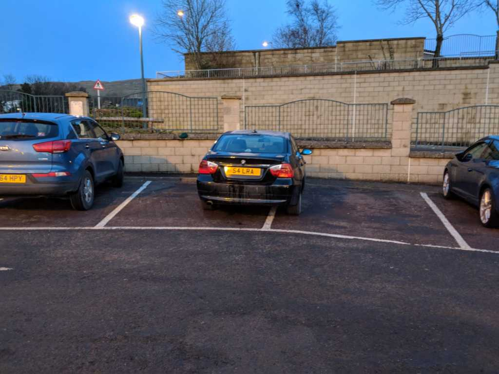 S4 LRA is an Inconsiderate Parker